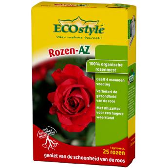 Organische rozenmest